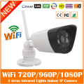 Hd bala ip camera wifi 2.0mp branco infrared night vision onvif cmos de vigilância em casa cctv webcam motion detect freeshipping