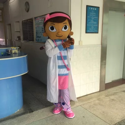 Doc McStuffins Mascot Costume Party Costumes Fancy Dress Suit Free Shipping Cosplay Costume adult size