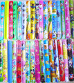 hot  sell !!  2015 popular  assorted colors  Magic Ruler Slap Band Bracelets / bangles