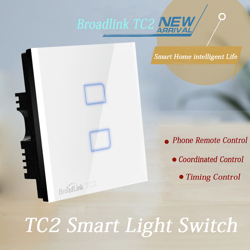 Smartphone Light Switch aliexpress : buy broadlink tc2 light switch wall switch smart