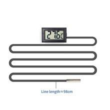 Цифровой термометр для холодильника, морозильник, температурный метр скидка 26