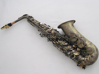 2016 Hot Selling Saxophone Selmer 54 E Alto Sax Instruments Bronze Drawing Beautiful Carving Professional Performance