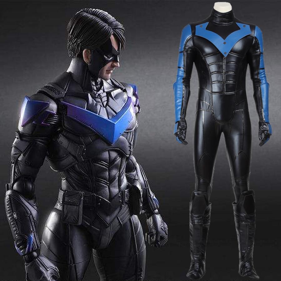 Popular Mens Nightwing Costume-Buy Cheap Mens Nightwing Costume ...