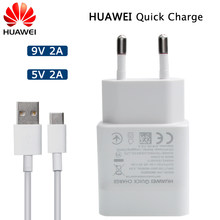 Huawei QC 2,0 Original cargador rápido tipo Micro USB-C Cable para Huawei P8 P9 Plus Lite de Honor 8 9 Mate 8 10 Nova 2 2i 3 3i(China)