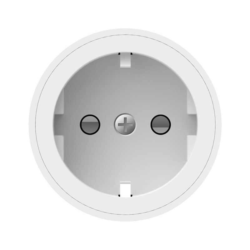 Inteligentne życie inteligentne gniazdo WiFi ue podłącz 2400 W monitorowanie zużycia energii z LED światła zegar przełącznik sterowania głosem praca Alexa Google IFTTT