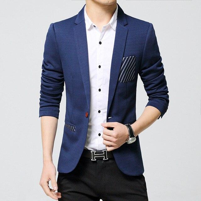2017 nuevos trajes hombres Europa moda para hombre chaqueta ocasional  superior calidad mens blazer trajes de a123f5caa19