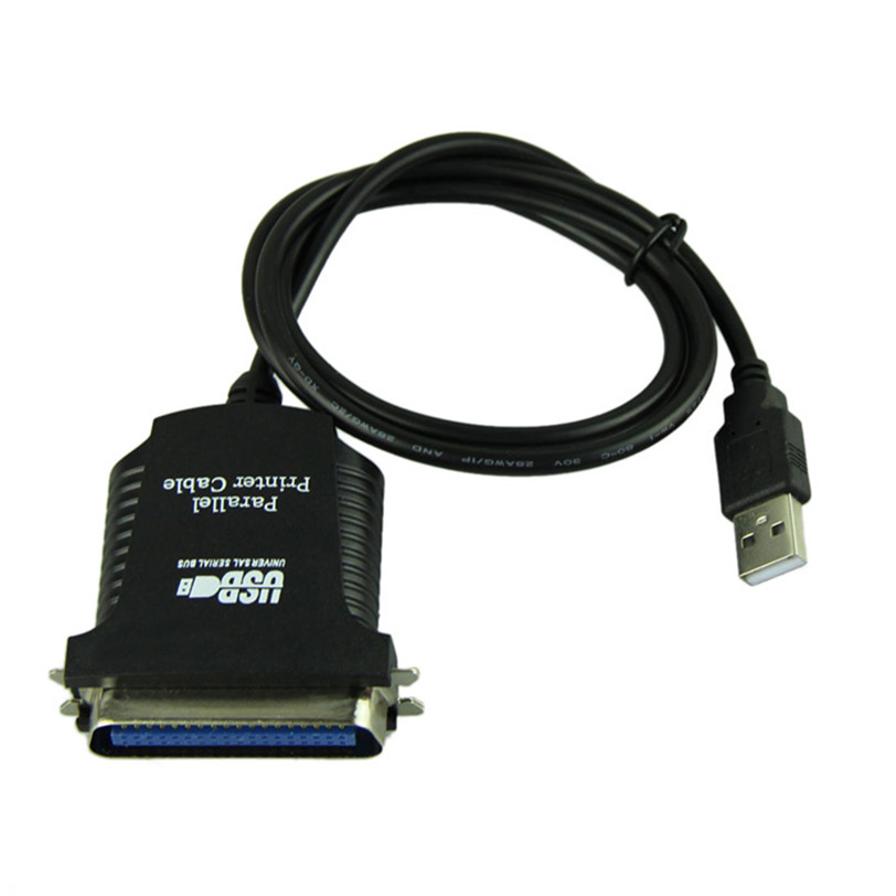 New USB To DB36 Female Port Parallel Printer Print Converter Cable LPT Jun14 Professional Factory Price Drop Shipping