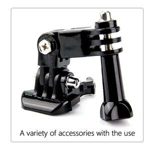 Image 5 - SnowHu sıcak satış fotoğraf aksesuarları Andoer üç yönlü ayarlanabilir Pivot kol Gopro Hero 9 8 7 6 5 4 için SJ4000 kamera GP15
