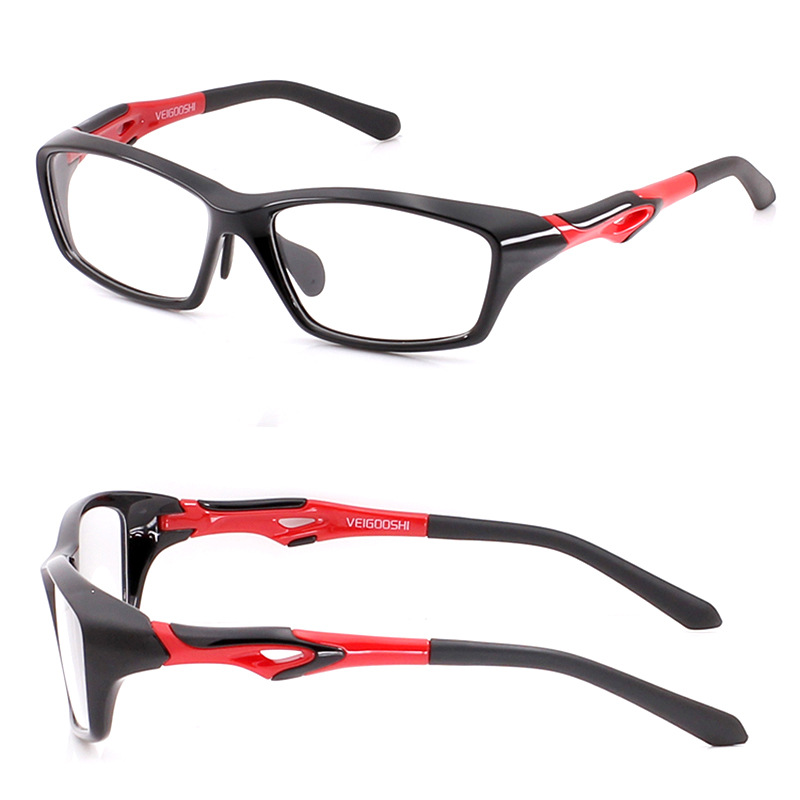 61 Brille Für Mann Fahren Grey Frauen Dioptrien 1 black schwarzes Red Photochrome dark Basketball Tr90 Rezept blue 1 Optische Blue Vazrobe Myopie Männer White Sport 56 red Uv400 fTEzn8x
