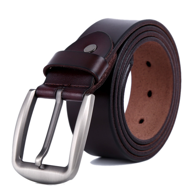 2015 Luxury Men Belt Genuine Leather Belt For Men Metal Buckle Fashion Brand Ceinture Designer Belts WND010