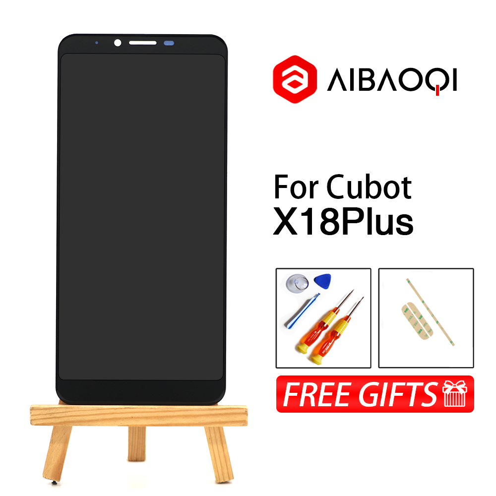 AiBaoQi New Original 5.99 inch Touch Screen+2160x1080 LCD Display Assembly Replacement For Cubot X18 Plus Android 8.0 Phone-in Mobile Phone LCD Screens from Cellphones & Telecommunications