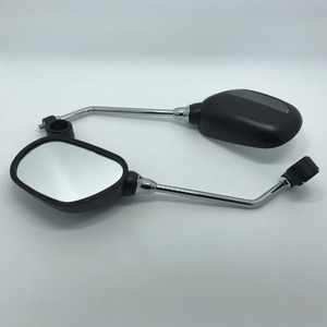 Image 4 - 1 Pair Bike Rearview Mirror Safety Bicycle Rear View Glass Mirrors Adjustable Cycling Rearview Left Right Mirror