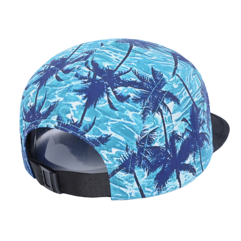 Tropical Printed Fashion Baseball Cap Hawaii Summer Style Snapback Hat  Floral Gorro Hip Hop 5 Panel Caps for Men Women Goldtop-in Baseball Caps  from Apparel ... ab07b2f9723