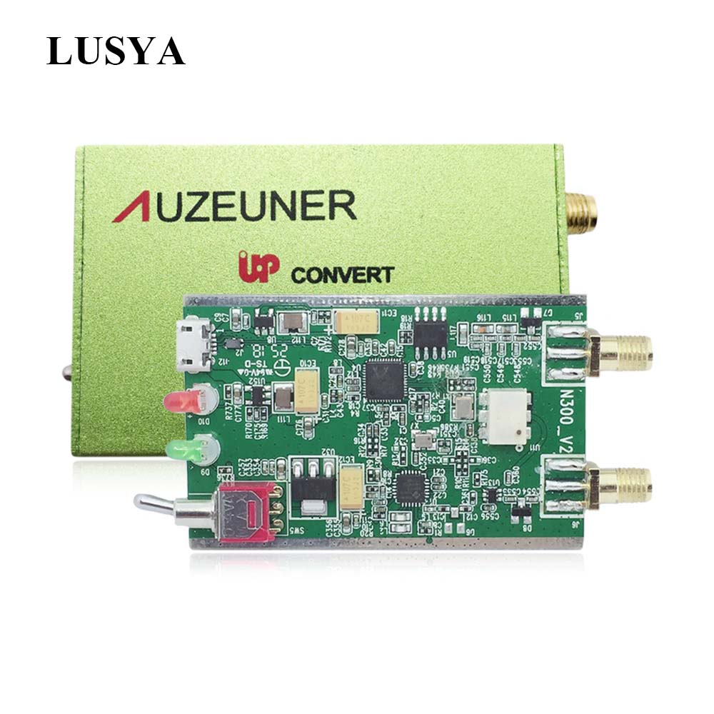 Lusya New Wide Range Of SDR With Up-convert RTL2832U+820T2 Premium Edition T0500
