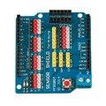 Alta Calidad Sensor Shield V5.0 Tarjeta de Expansión Shield para Arduino UNO R3 Módulo Eléctrico Promoción Caliente