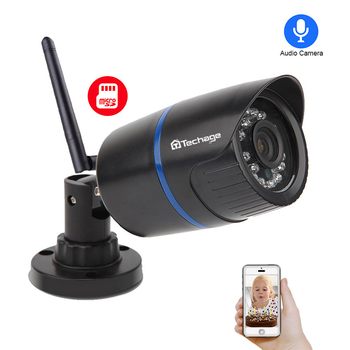 Techage Yoosee 1080 P 720 P Wifi Wireless IP Camera Night Vision Video Audio Geluid Sd-kaart Record Home Security CCTV Surveillance