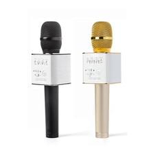 Mini Professionnel Magique Sans Fil Bluetooth Karaoké Microphone Avec Bluetooth Super Bass Haut-Parleur KTV Extérieure Pour Iphone Android