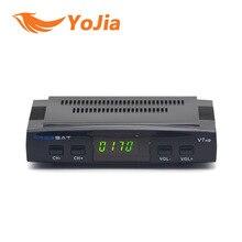 [Подлинная] Freesat V7 DVB-S2 HD с USB Wifi Спутниковое ТВ Приемника Поддержка PowerVu Biss Key Youporn Cccamd Youtube Set Top Box