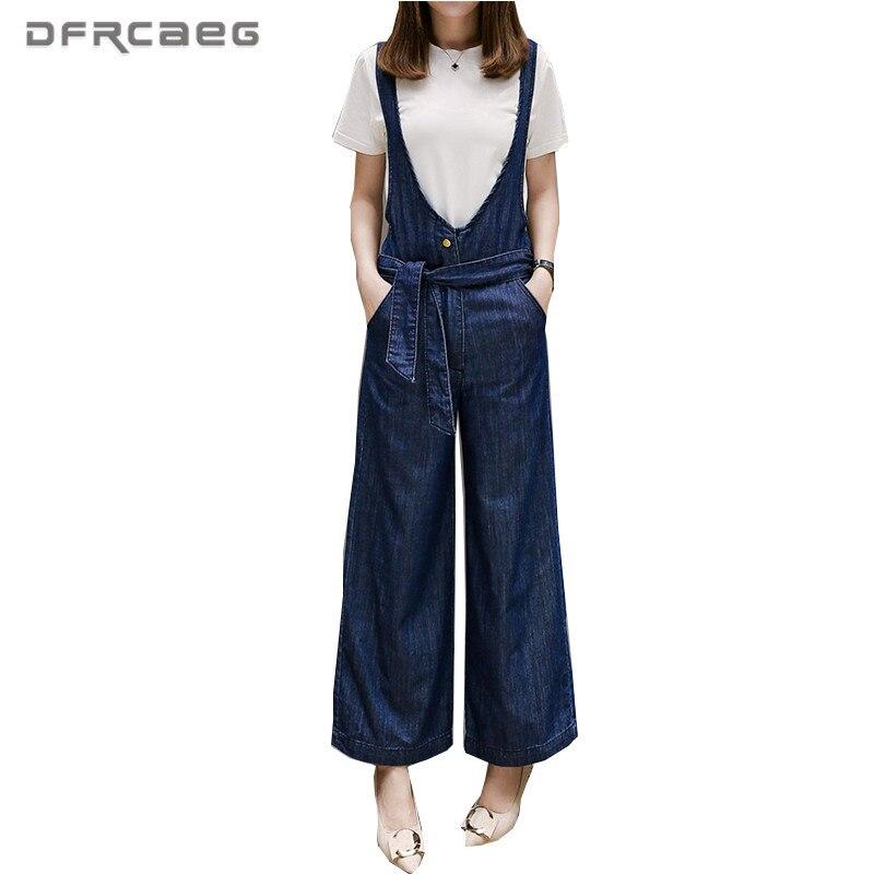 Herrenbekleidung & Zubehör Dimanaf Frauen Plus Größe Overalls Sommer Breite Beine Lange Hosen Solid Black Lose Übergroßen Casual Weibliche Große Hosen Kleidung