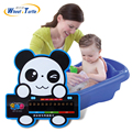 1 pcs panda dos desenhos animados abs banho do bebê termômetro de água termômetro lcd termômetro para crianças nadar piscina termômetro digital da água