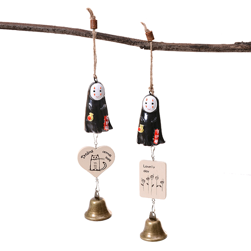 Cartoon Patron God Bell Ornament Characters Modern Figurine Miniature Home Decoration Living Room For Birthday Childrens Gifts