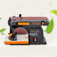 High Quality Sand Belt Machine Sandpaper Polishing Sharpening Machine Desktop Woodworking Grinder 220v 50HZ 370W 2850R