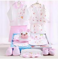 100 Cotton Newborn Gift Box 18pcs Sets Baby Clothes Autumn And Winter Warm Set Newborn Baby