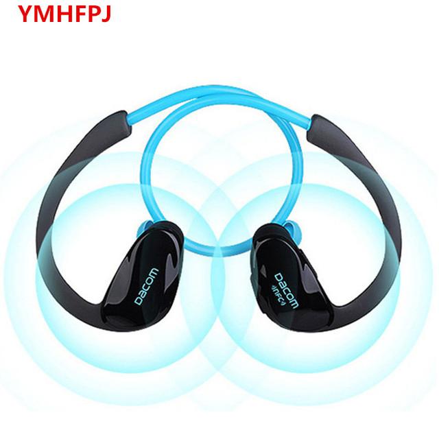 DACOM NFC Inalámbrica Bluetooth V4.1 ATLETA Auriculares Deporte Auricular auriculares deportivos Estéreo con el Mic para El Iphone xiaomi huawei