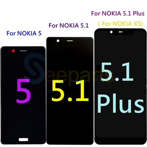 Image 2 - New For Nokia 5.1 LCD Display Touch Screen For Nokia 5.1 Plus LCD 5 X5 Screen Replacement TA 1024 1027 1044 1053 1008 1030 1109