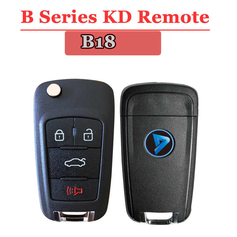 Free shipping (1 piece)B18 kd remote 3+1 Button B series Remote Key for URG200/KD900/KD200 machine