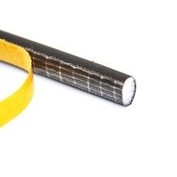 6 Meters D type Polyurethane foam self adhesive wooden door window tape sealing strip weatherstripping