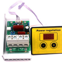 Переменный ток 220 В 10000 Вт SCR регулятор напряжения регулятор скорости диммеры термостат