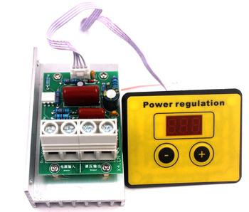 AC 220V 10000W SCR regulacja prędkości napięcia regulacja ściemniania ściemniacze termostat tanie i dobre opinie TCXRE Silnik ac