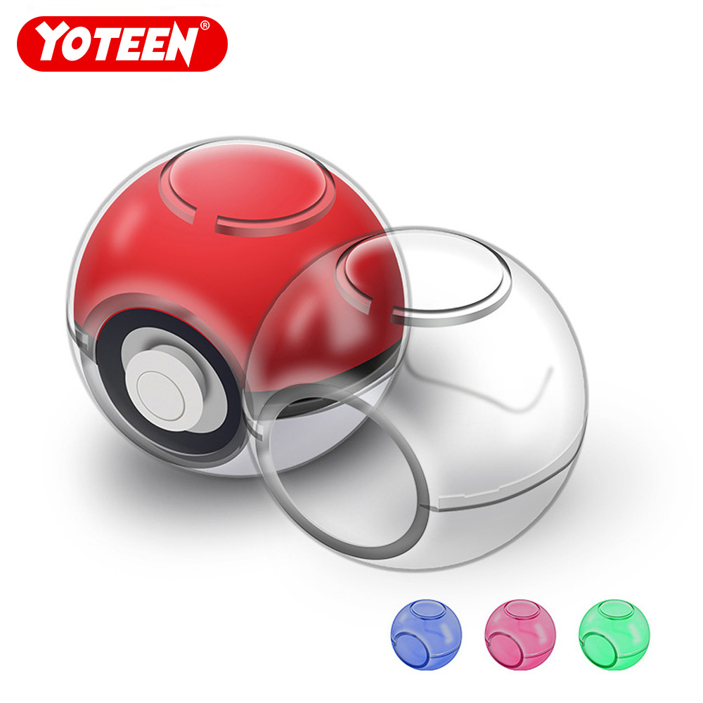 Yoteen for Poke Ball Protective Cover Plastic Hard Transpare