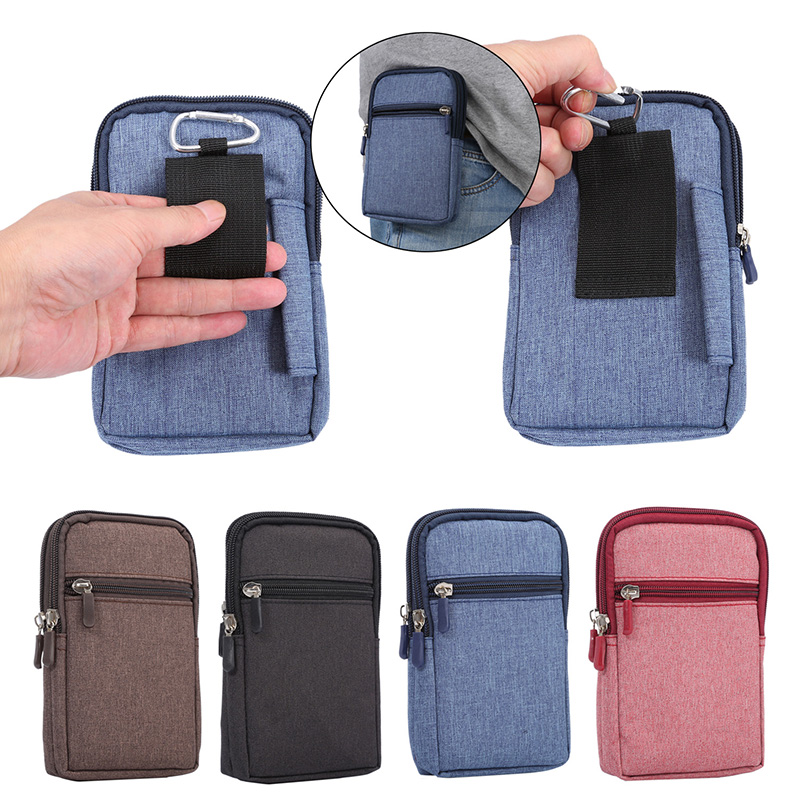 Outdoor Universal Waist Bag Case For <font><b>Samsung</b></font> Galaxy J510 J510F J510FN <font><b>SM</b></font>-J510F J5 2016 J530DS <font><b>J530FM</b></font> Waist Pouch Belt Clip Cover image