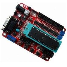 Placa de desenvolvimento atmega32 placa de aprendizagem avr atmega32a placa de desenvolvimento do sistema pequeno
