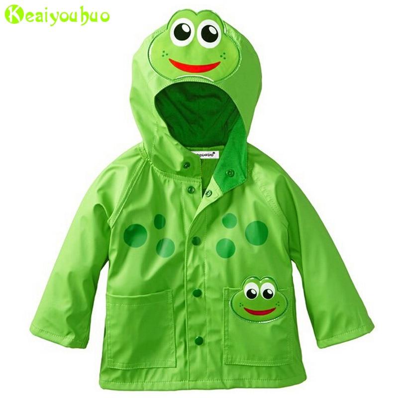 KEAIYOUHUO Girls Jacket For Boys Jackets Children Windbreaker Kids Raincoat Coat 2017 Autumn Girls Trench Coats For Boys Clothes