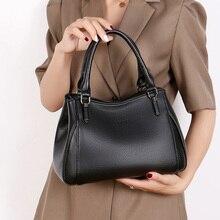 Women Handbag Genuine Leather Tote Bags Tassel Luxury Shoulder Ladies Handbags Fashion