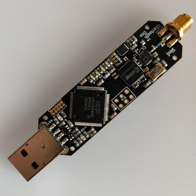 Ubertooth One Bluetooth protocol analysis open source device Support BLE capture