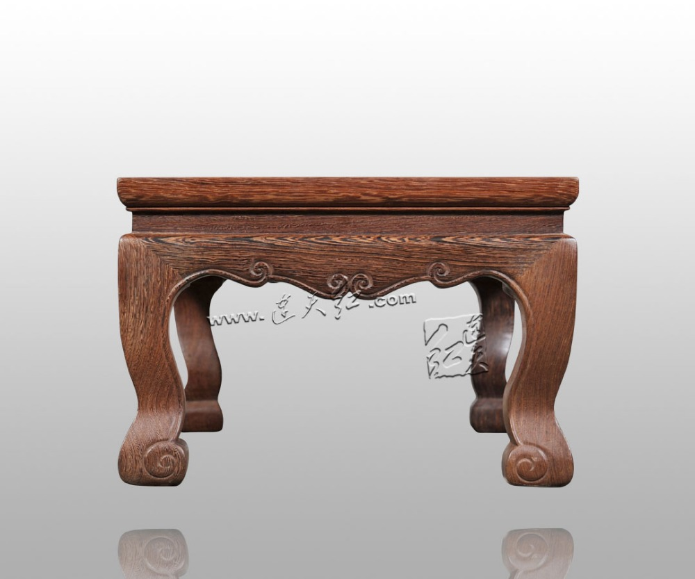 Coffee Tables Intelligent Special Rosewood Carving Annatto Handicraft Circular Base Of Real Wood Of Buddha Stone Are Recommended Vase Furnishing Articles Sale Price