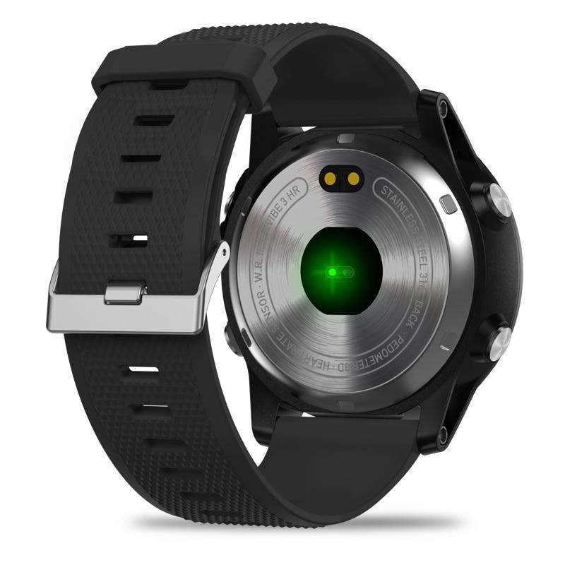 Nouveau Zeblaze VIBE 3 HR IPS écran couleur sport Smartwatch moniteur de fréquence cardiaque IP67 étanche montre intelligente hommes pour IOS et Android-in Montres connectées from Electronique    2