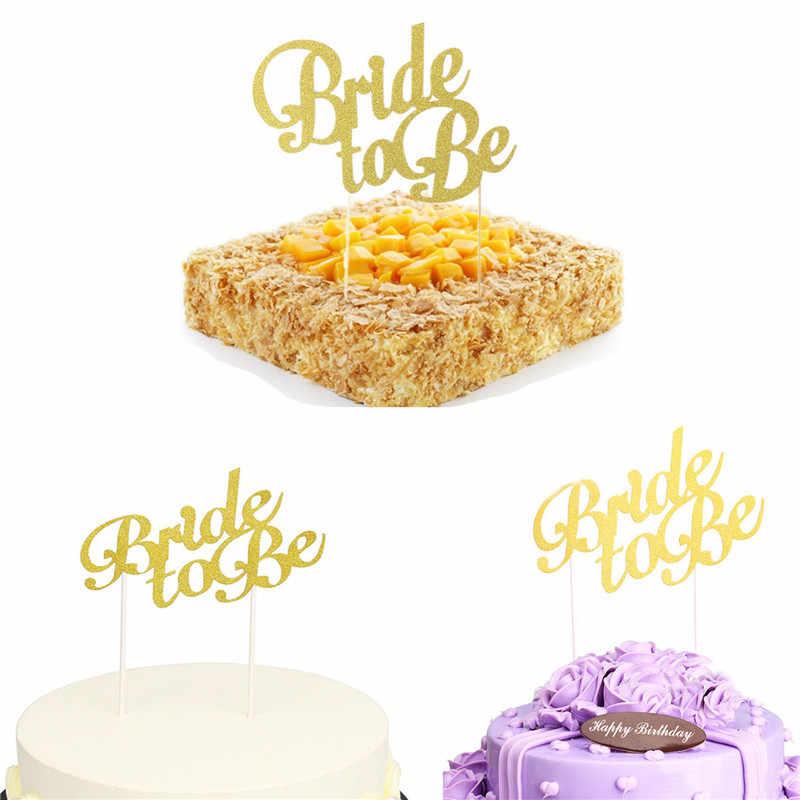 Novia a ser torta Topper despedida de soltera fiesta nupcial ducha playa país boda compromiso pastel decoración Favor