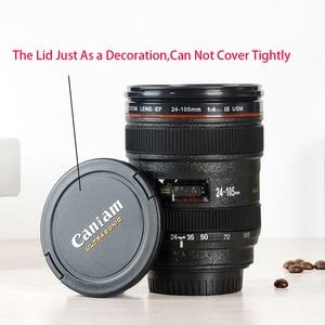 Image 3 - New Caniam SLR Kamera Objektiv 24 105mm Maßstab 1:1 Kunststoff Kaffee Tee BECHER 400ML Kreative Tassen Und becher Mit Deckel M102 BECHER 09