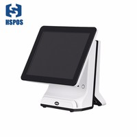 HSPOS Capacitive touch screen 15 inch POS system Cash Register pos terminal all in one for retail SDL15