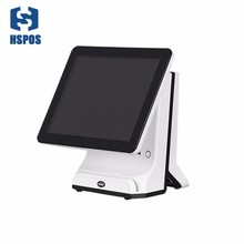 HSPOS Capacitive touch screen 15 inch touch screen POS Cash Register support can add15 inch Secondary screen HS-SDL15 цена