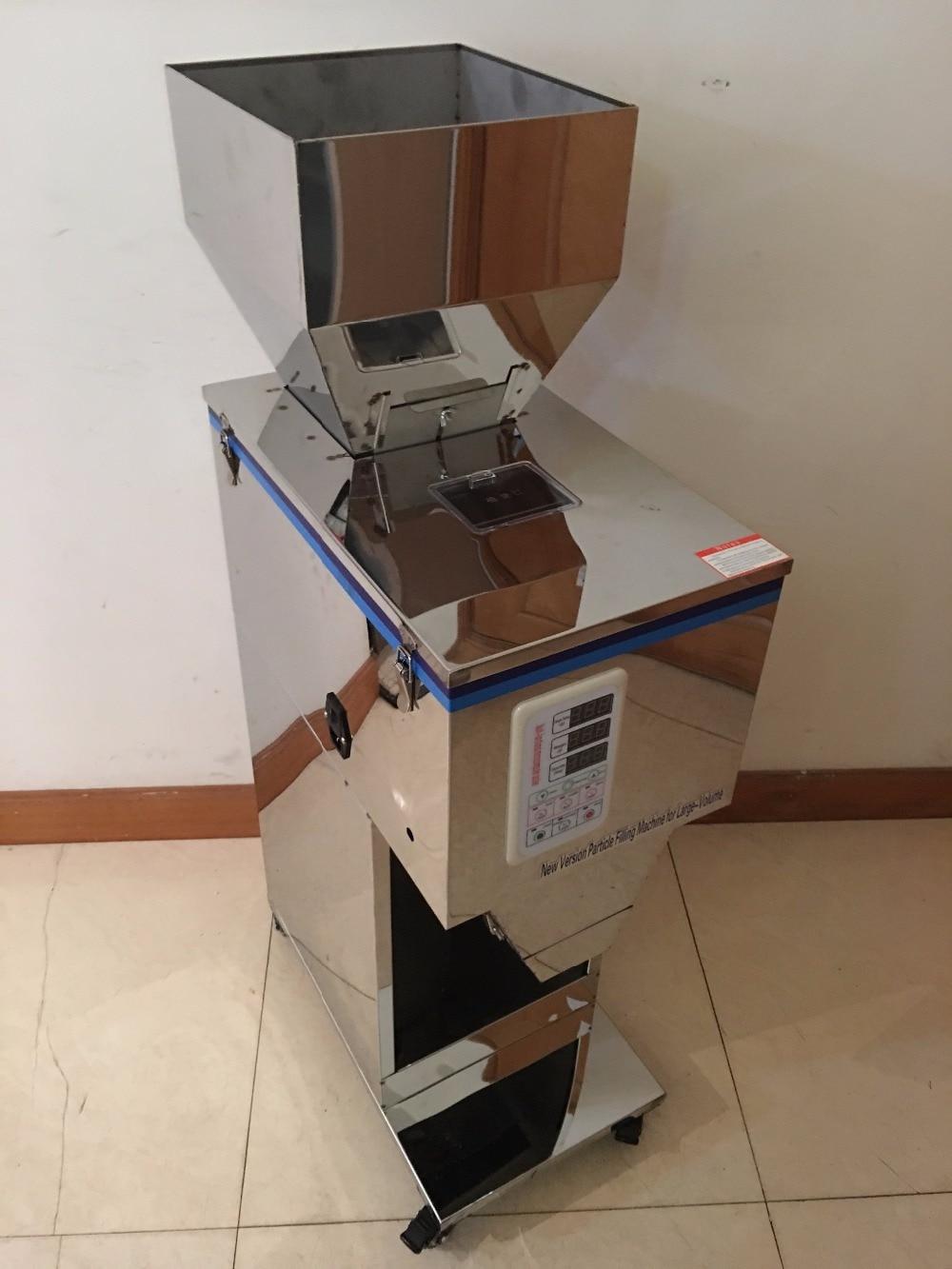 Granular material version 10 999g automatic Food weighing packing machine granular tea hardware nut materials filling