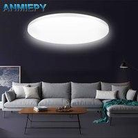 LED مصباح لوحة LED ضوء السقف 9 واط 13 واط 18 واط 24 واط 36 واط أسفل ضوء سطح شنت التيار المتناوب 85-265 فولت لمبة عصرية للإضاءة المنزلية