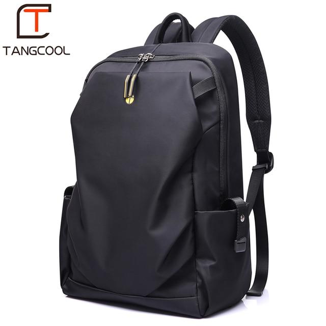 Tangcool Men Fashion Backpack 15 inch Laptop Backpack Men Waterproof Travel Outdoor Backpack School Teenage backpack Mochila