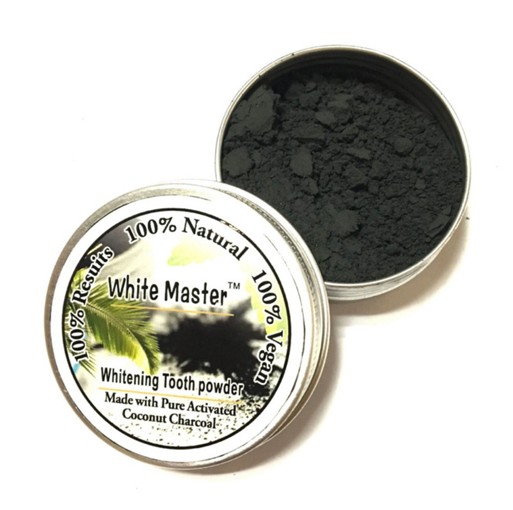18g Glare Teeth Whitening Powder Natural Organic Activated Charcoal Bamboo Toothpaste Blanqueador Dental Material Oral Hygiene