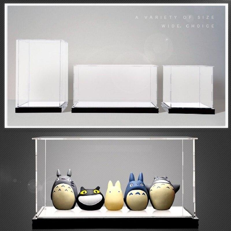 30X20X40CM High transparent acrylic display box Garage Kit Clay Model Cover Customized toy dustproof box